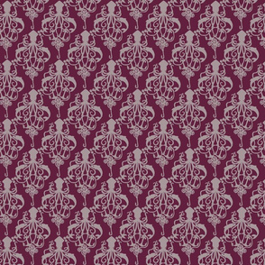 Squid Damask Wine - Small Scale