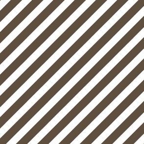 stripes fabric - diagonal stripes fabric - brown