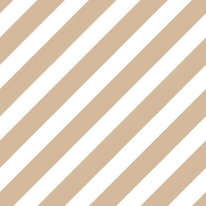 stripe fabric - tan