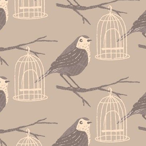 Wrens ~ Taupe