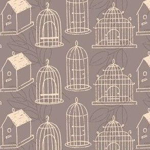 Bird cages and Houses ~ Mudstone