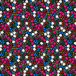 Bold Ditsy Floral