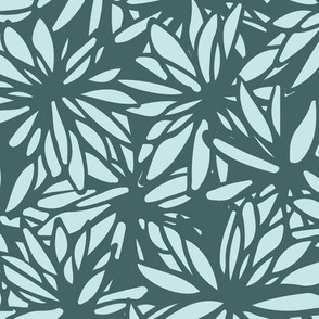 Wild Floral - Pine & Mint