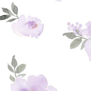 Dreamy Pastel Floral | Lavender