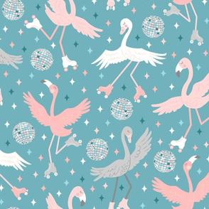 Disco Roller Birds