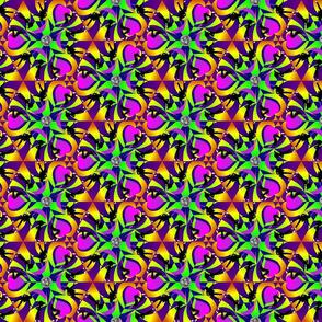 Roller Disco Kaleidoscope