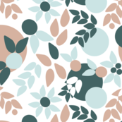 Flowy Abstract Botanical