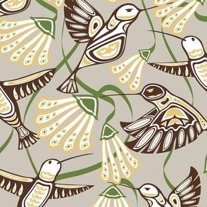 Hummingbirds & Blooms (2)(lg)
