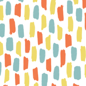 Colorful tiny splotches