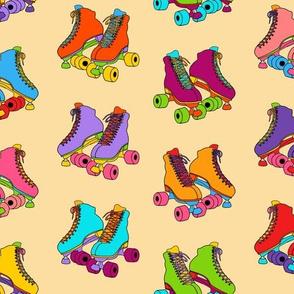 Skate Party 12in - Tan