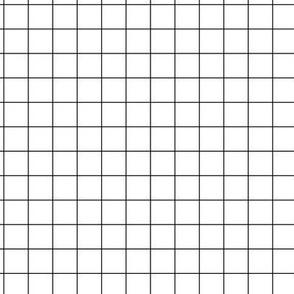 Smaller Scale - Citymap Grid - White/Black