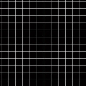 Smaller Scale - Citymap Grid - Black/White