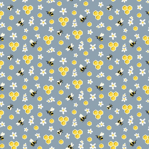 Honey Bee & Blossom