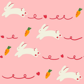 rabbits-large scale