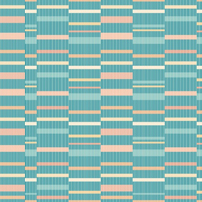 Pastel colors block pattern