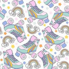 retro star roller skates