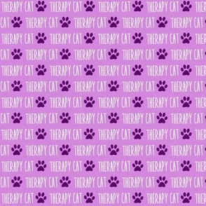 Therapy Cat Purple