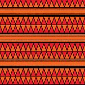 orange black triangle repeat
