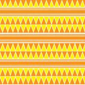 yellow orange triangle repeat