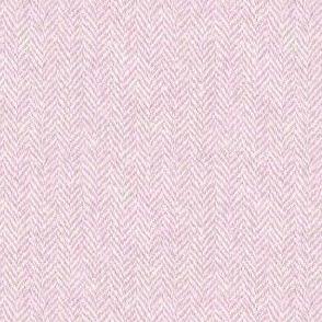 faux tweedy pale pink herringbone tweed