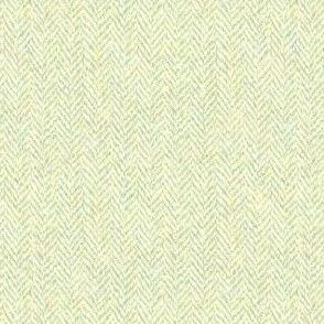 faux tweedy pale hazel herringbone tweed