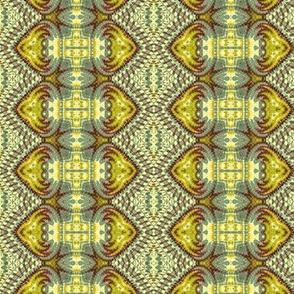 Golden Tipped Diamond Stripes