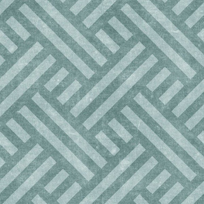 farmhouse weave - dusty blue two tone - LAD20