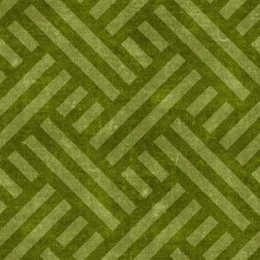 farmhouse weave - moss green two tone - LAD20