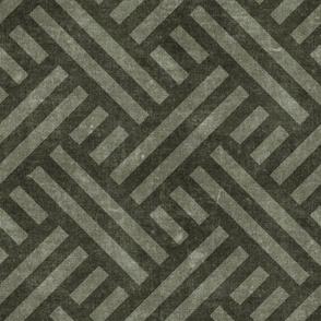 farmhouse weave - dark olive two tone - LAD20