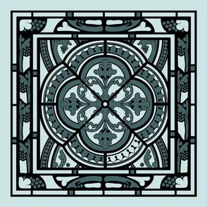 pine and mint window