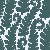 Pine and Mint leaves