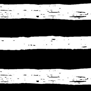 lines XL white on black doodled ink 500% scale