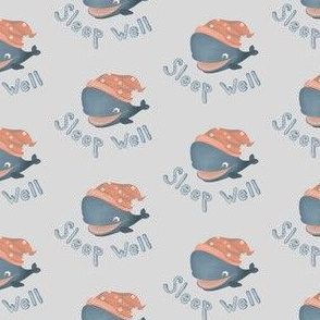 Sleep well, little whale