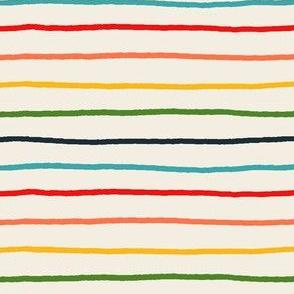 Retro stripe ABC coordinate