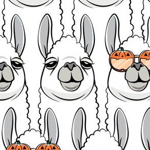 (jumbo scale) halloween loving llamas - stacked C20BS