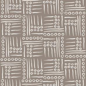 Mud cloth - taupe
