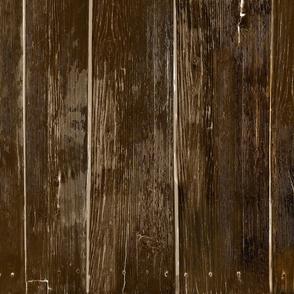 Large Weathered Wood Siding-dk mahogany- vertical