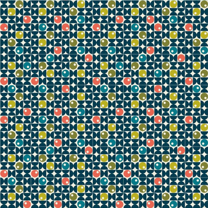 Abstract Modern Micro Geometric