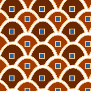 Elegant Scallops and Squares