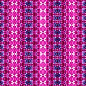 Pink & Blue Laced Gem Stripes