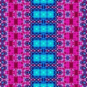 Pink & Blue Delicate Stripes