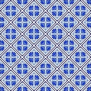 Blue White Tiny All Over Tile Design 1_5x1_5-01c-150dpi