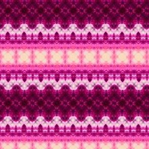 Pink & Cream Stripes