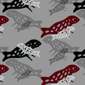 Sea Lion Mamas (gray) - Medium