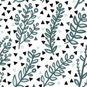 mint + leaves