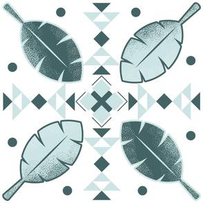 Geometric leaves