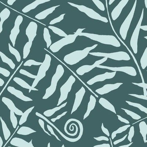 Fern Forest Mint on Pine