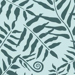 Fern Forest Pine on Mint