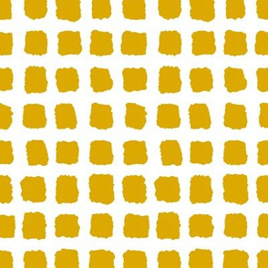 Choppy Checkers Mustard Inverted