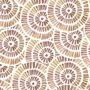 Mystic circles - sun dust